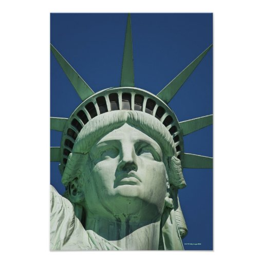 Statue of Liberty 2 Poster