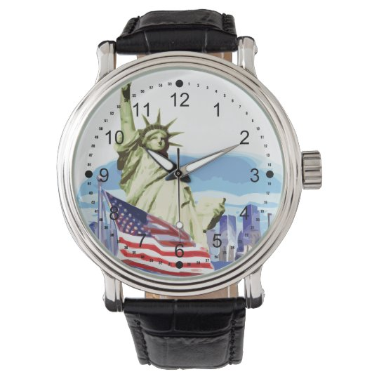Statue of Liberty 2 Wristwatches