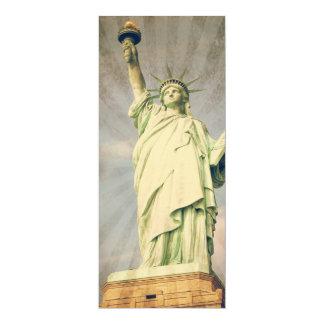 "Statue of Liberty 4"" X 9.25"" Invitation Card"