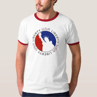 Statue Of Liberty 4th of July T-Shirt