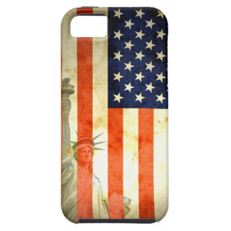 Statue of Liberty American Flag  iPhone 5 Case