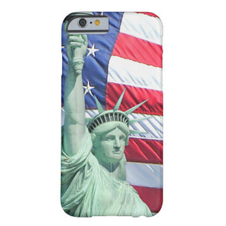 Statue of Liberty and U.S. Flag Barely There iPhone 6 Case