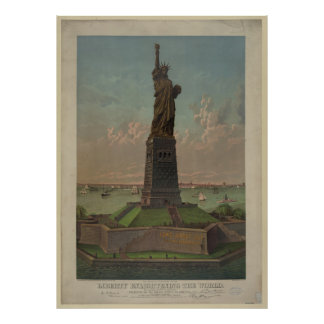 Statue of Liberty Artwork Poster