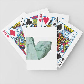 Statue-of-Liberty Bicycle Playing Cards