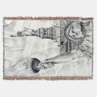 Statue of Liberty Blanket