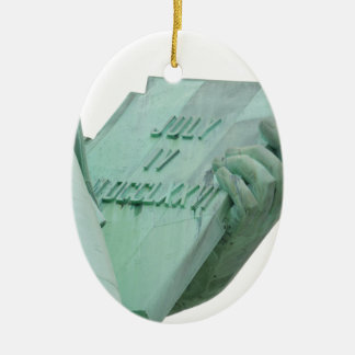 Statue-of-Liberty Ceramic Ornament