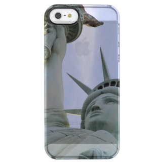 Statue of Liberty Clear iPhone SE/5/5s Case