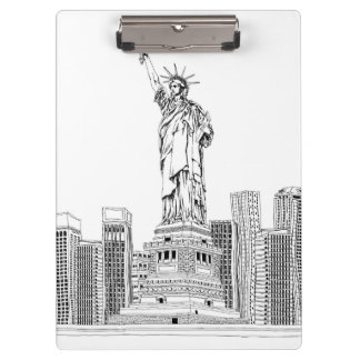 Statue of Liberty Clipboard