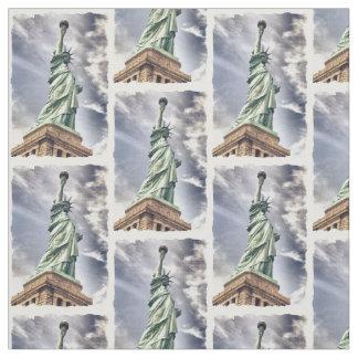 Statue of Liberty custom fabric