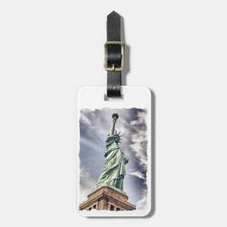 Statue of Liberty custom luggage tag