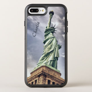 Statue of Liberty custom monogram phone cases