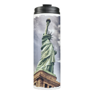Statue of Liberty custom name tumbler