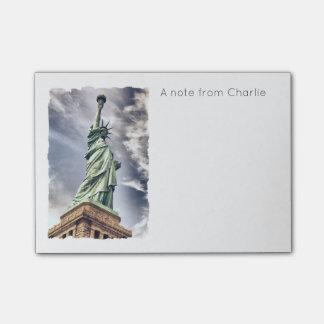 Statue of Liberty custom notes