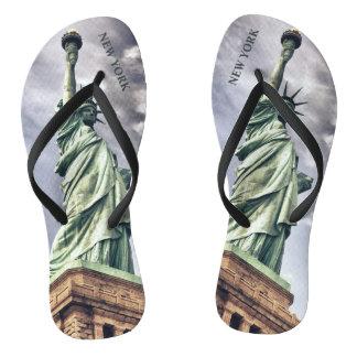 Statue of Liberty custom sandals