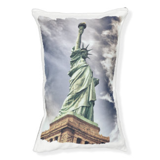 Statue of Liberty dog beds