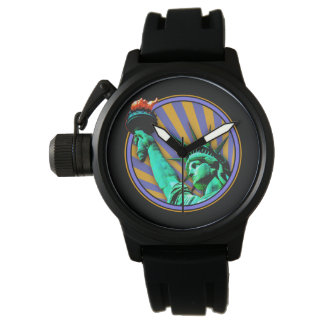 Statue of Liberty Emblem Design Watch