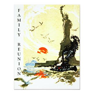STATUE OF LIBERTY Family Reunion HARBOR INVITATION