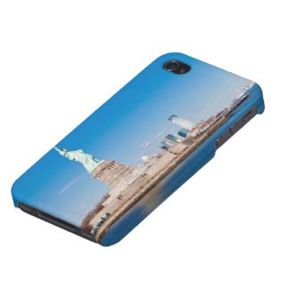 Statue of Liberty, Hudson River and Manhattan Case For iPhone 4