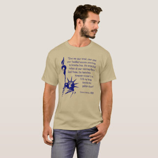 Statue of Liberty Inscription T-Shirt