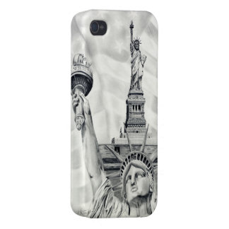 Statue of Liberty iPhone 4/4s Savvy Case Covers For iPhone 4