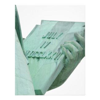 Statue-of-Liberty Letterhead