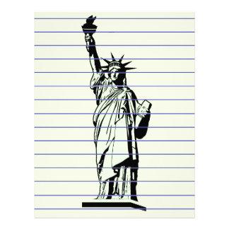 Statue of Liberty Letterhead
