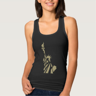Statue of Liberty - New Colossus Patriotic Poem Tank Top