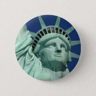 Statue of Liberty, New York 2 Inch Round Button