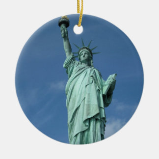 Statue of Liberty, New York Ceramic Ornament
