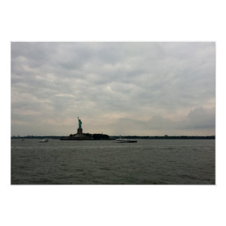 Statue of Liberty New York Harbour Poster
