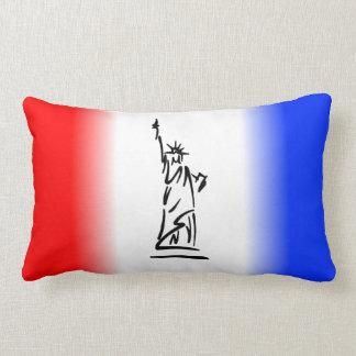 Statue of Liberty New York Lumbar Pillow