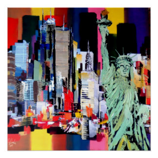 Statue of Liberty New York Perfect Poster