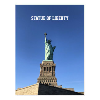 Statue of Liberty, New York, Postcard
