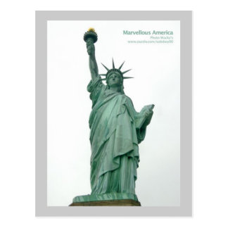 Statue Of Liberty, New York Postcard