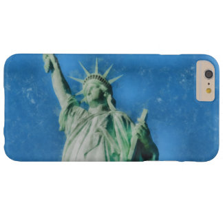 Statue of liberty, New York watercolors painting Barely There iPhone 6 Plus Case