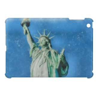 Statue of liberty, New York watercolors painting Case For The iPad Mini