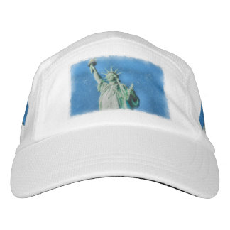 Statue of liberty, New York watercolors painting Hat