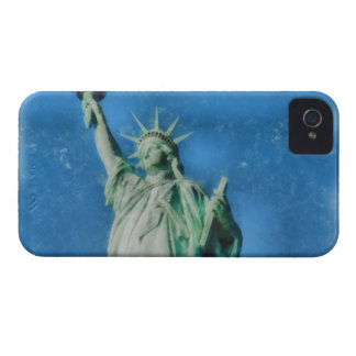 Statue of liberty, New York watercolors painting iPhone 4 Cover