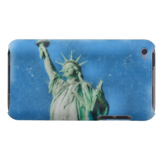 Statue of liberty, New York watercolors painting iPod Touch Cover