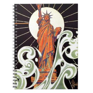 Statue of Liberty Notebooks
