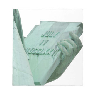 Statue-of-Liberty Notepad