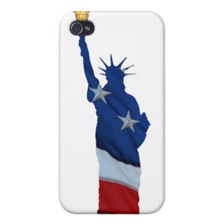 Statue of liberty on any color case for the iPhone 4