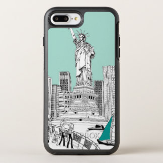 Statue of Liberty OtterBox Symmetry iPhone 7 Plus Case