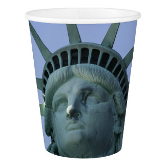 Statue of Liberty paper cups