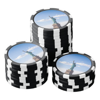 Statue of Liberty Poker Chips