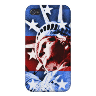 Statue of Liberty Pop Art I Phone Speck Cover Cover For iPhone 4