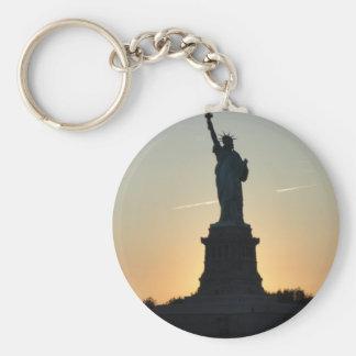Statue of Liberty Profile - ReasonerStore Keychain