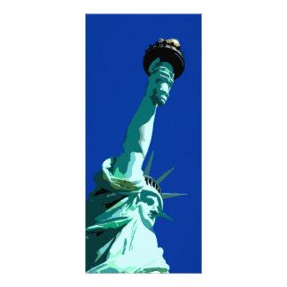 Statue of Liberty Rack Card