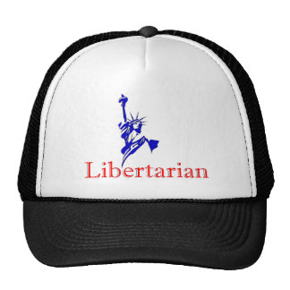 Statue of Liberty -- Retro Libertarian icon Trucker Hat
