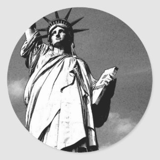 Statue of Liberty Round Sticker